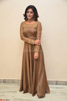 Eesha looks super cute in Beig Anarkali Dress at Maya Mall pre release function ~ Celebrities Exclusive Galleries 078.JPG
