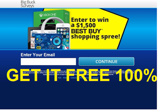 Get a $1500 Best Buy Shopping Spree! FREE