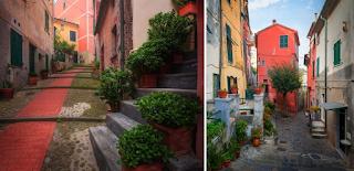 Στενάκια στην Ιταλία που μοιάζουν παραμυθένια