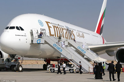 Chiếc A380 của hãng hàng không Emirates