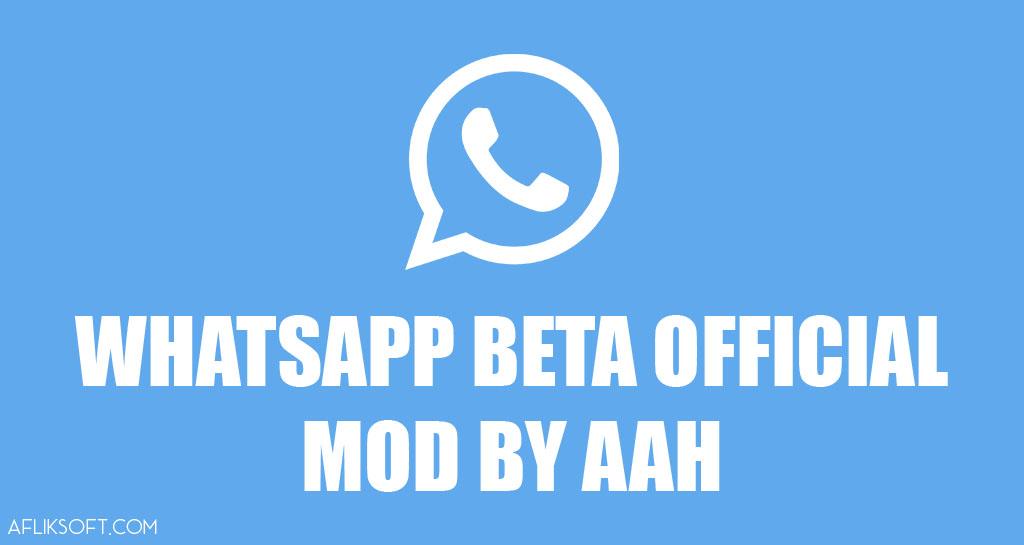 WhatsApp Beta Official Mod