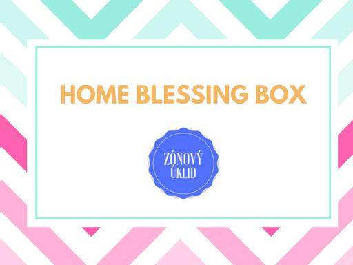Home Blessing Box - voňavá krabice s překvapením