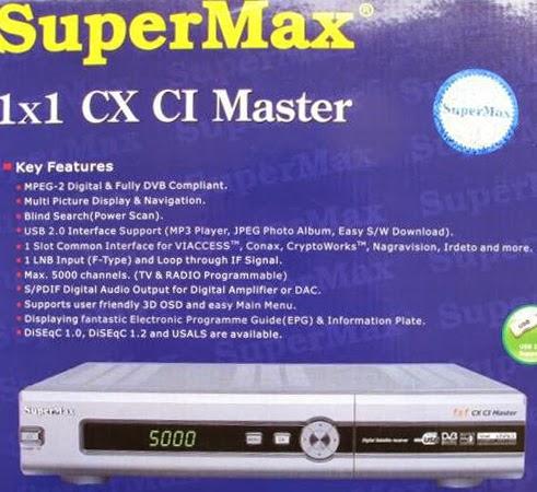 Supermax Digital Receiver New Model Software Download Free