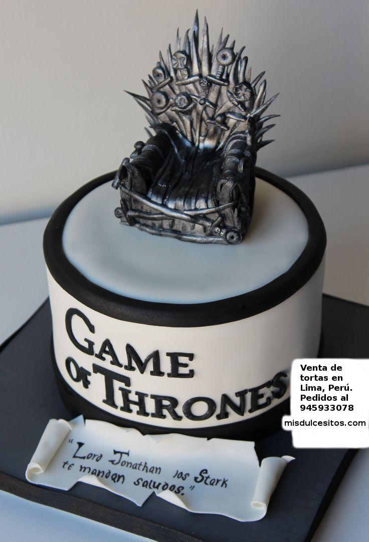 Tortas Game of Thrones. Venta de tortas Game of Thrones en Lima, Perú.
