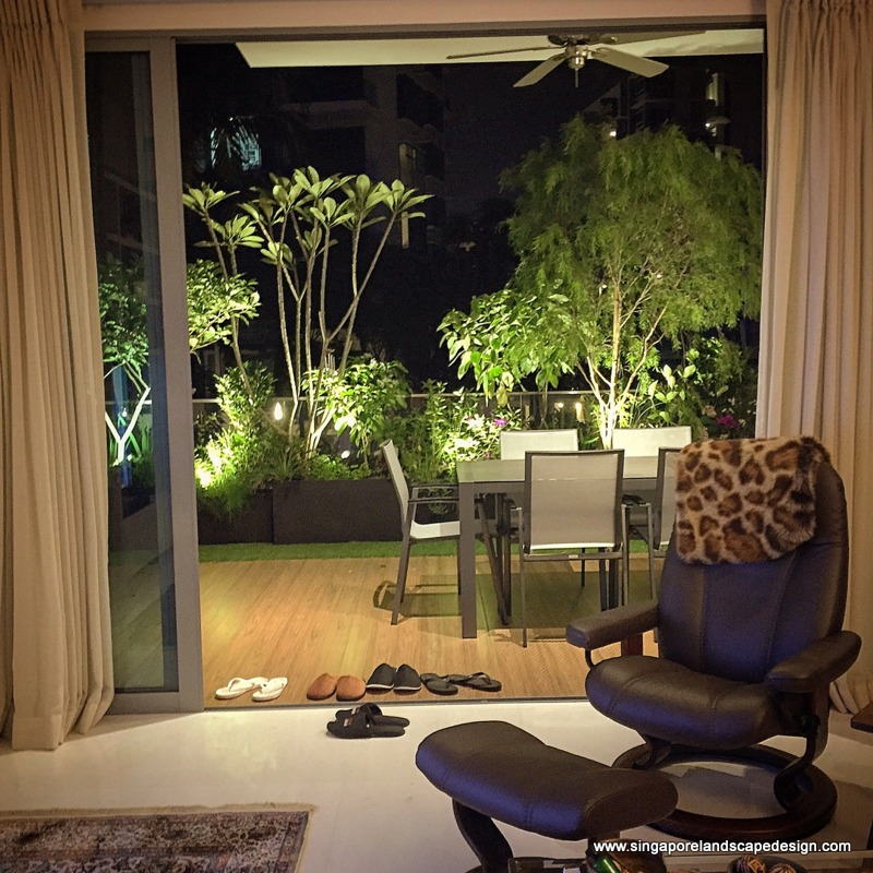 Balcony In Style 19: Lighting Up Your Garden Generously