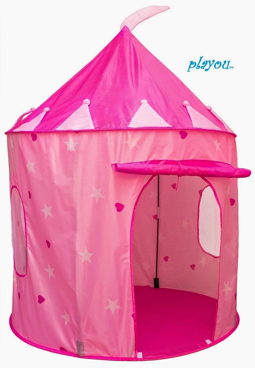 Girl's Pink Princess Castle