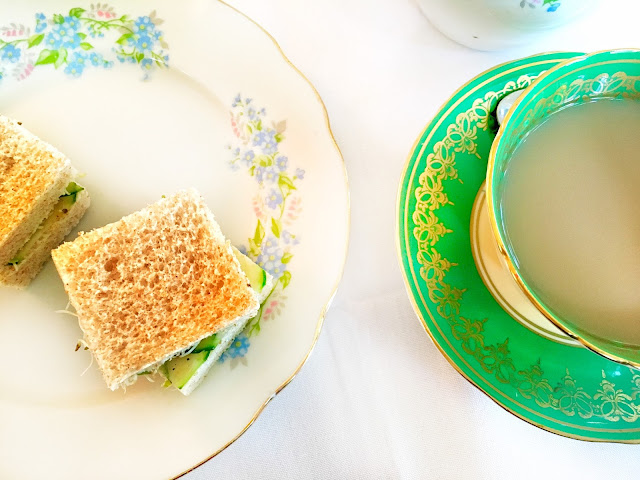 English Tea Time at Queen's University Club