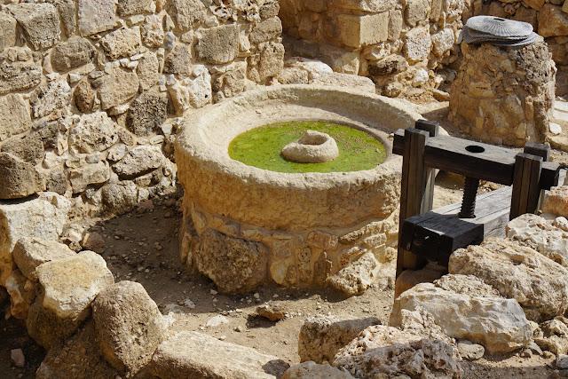 שרידי אבן ריחיים