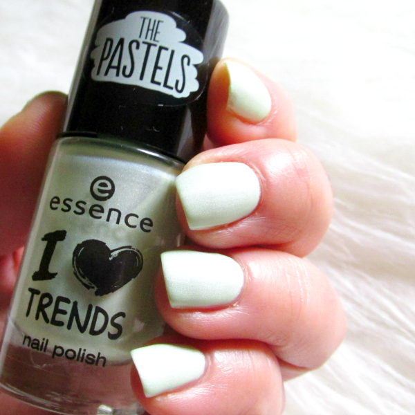 essence The Pastels nail polishes - so lucky