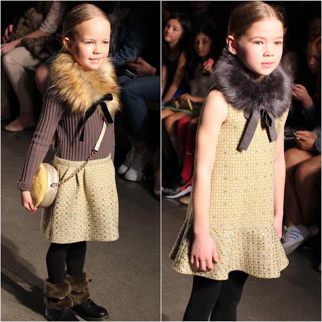 Girls Fur Collar | Fall Winter 2016 | Imoga | Chichi Mary Blog