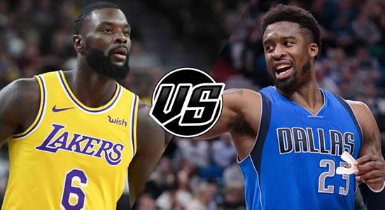 Live Streaming List: LA Lakers vs Dallas Mavericks 2018-2019 NBA Season