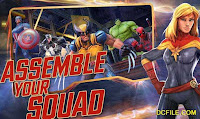 MARVEL Strike Force game download update version, unlimited power cores, Powerful MARVEL superheroes,