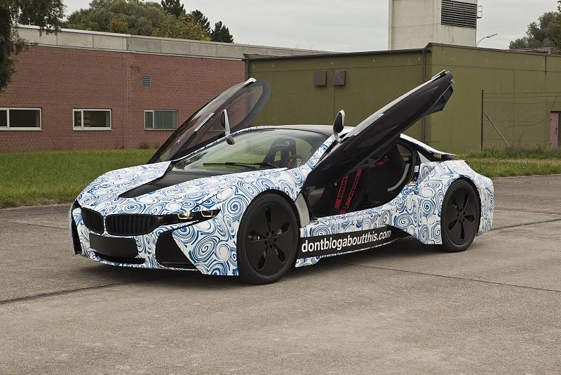 2013 BMW I8 Hybrid Sports Coupe