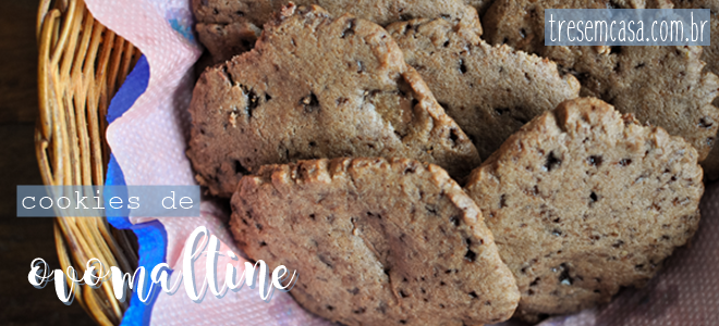 receita de cookie de ovomaltine