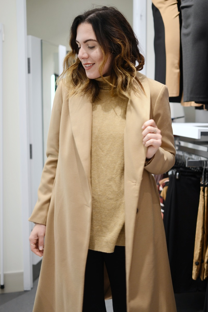 Vancouver fashion blogger aleesha harris le chateau tsawwassen mills sneak peek