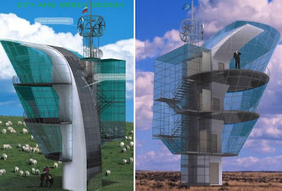 Diseño de edificio ecológico