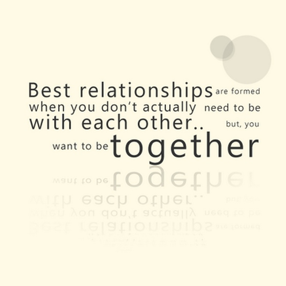 Love Each Other Or Perish: Best Relationships Are Formed When You