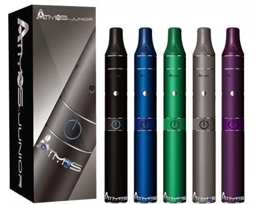 Portable Hookahs: Atmos Raw RX Junior Vaporizer Pen for Dry
