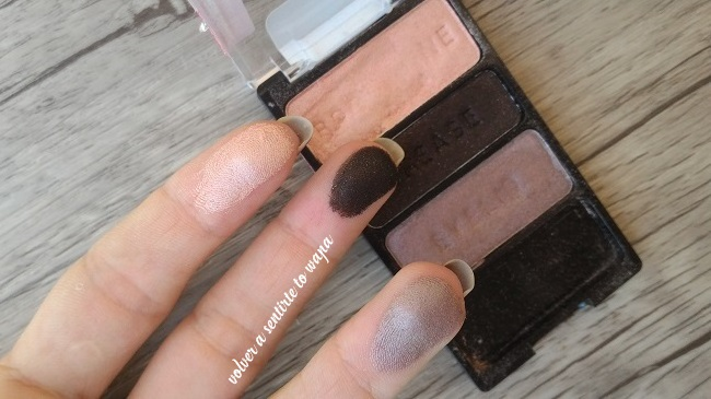 Paleta de sombras de ojos Silent Treatment de Wet n' Wild - Swatches