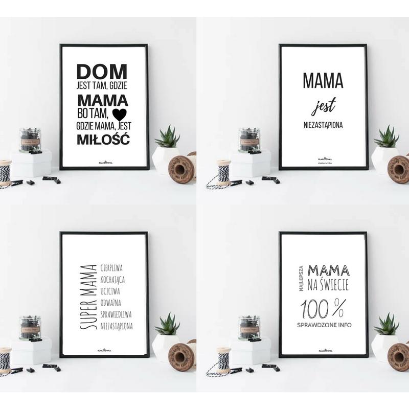 Darmowe Plakaty Na Dzień Mamy Plakatówka