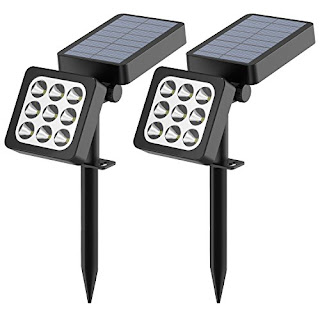 Adjustable Solar Outdoor Lights