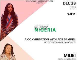 Temi Otedola hosts America based renowned stylist and shoe designer Ade Samuel in Lagos