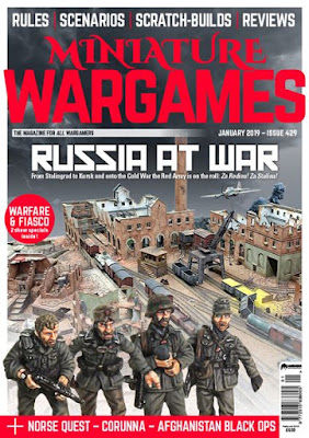 Miniature Wargames 429, January 2019