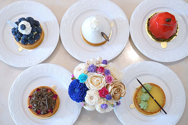 DSC02005 - 熱血採訪│隱藏在台中七期的藍帶甜點,金心盈福Cuore D'oro法義甜點