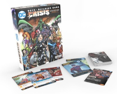 Cryptozoic Entertainment DC Deck-Building Game Crisis Expansion Pack 4