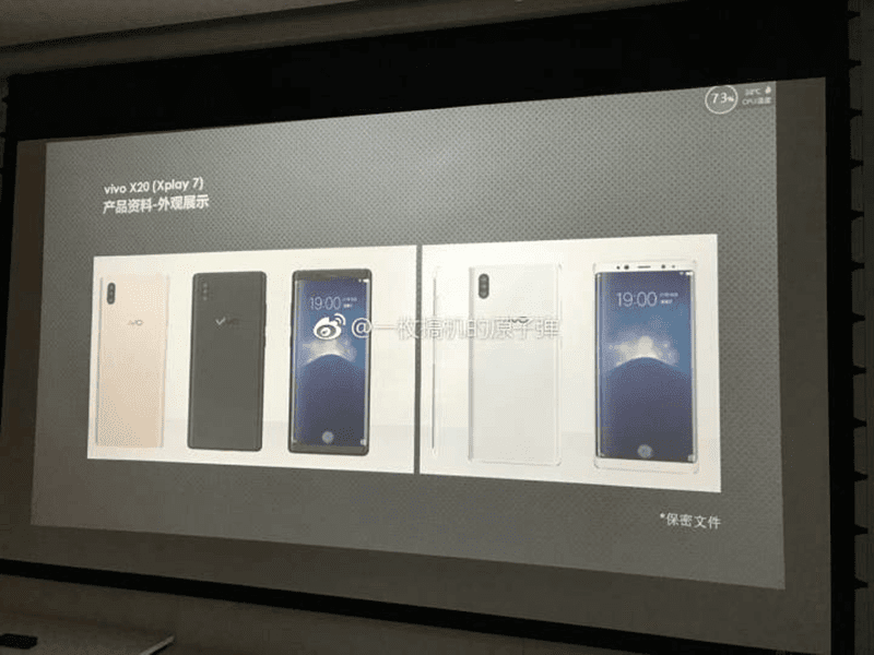 Vivo Xplay 7 Leaks, Will Feature 5 Cameras In Total