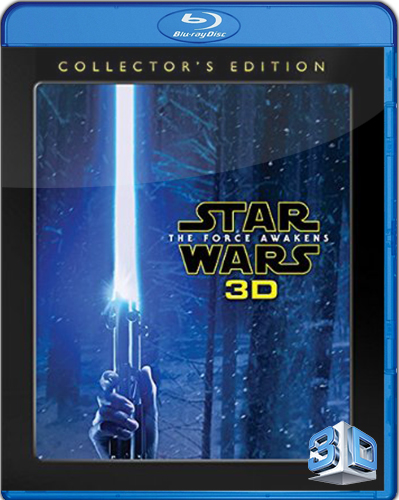 Star Wars. Episode VII: The Force Awakens [2015] [BD50] [3D] [Español]