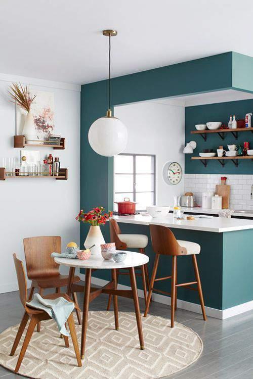 Menata dapur sempit agar terlihat luas