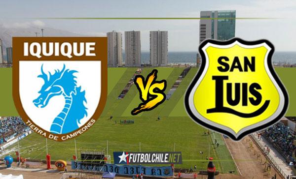 Deportes Iquique vs San Luis de Quillota - 12:00 h - Campeonato Transición - 02/12/17