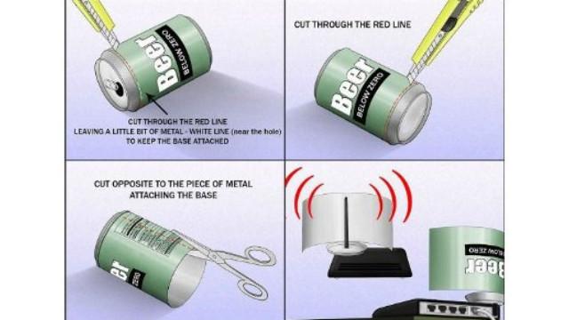 Cara memperkuat sinyal internet PC atau Laptop