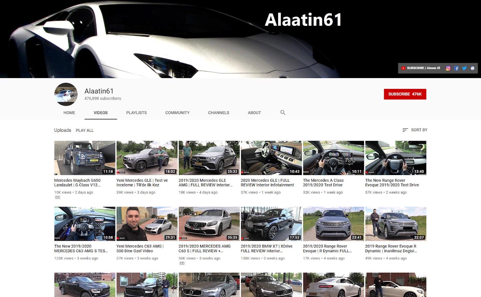 Alaatin61 YouTube .com
