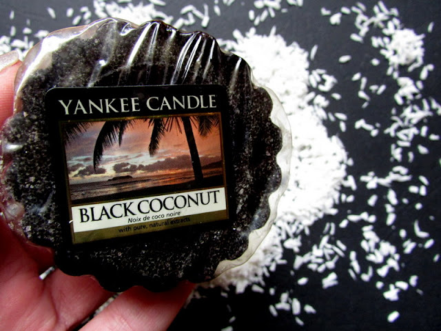 Black Coconut - wosk Yankee Candle