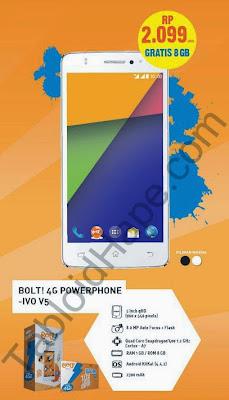 Harga Bolt 4G Powerphone IVO V5 Terbaru