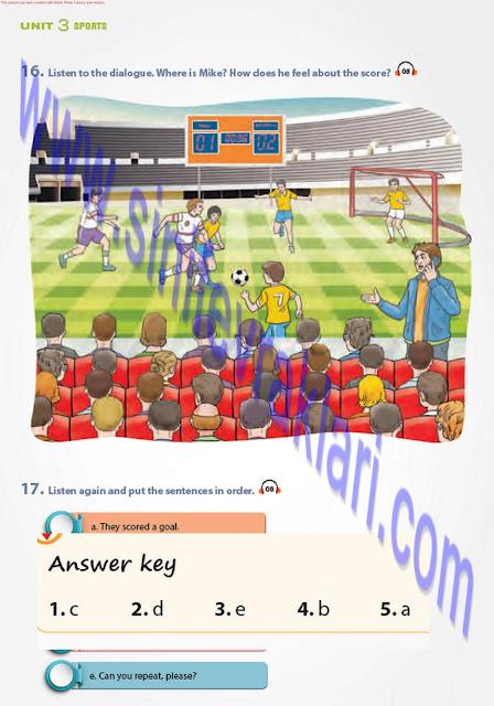 7. Sınıf Pantera Yayınları İngilizce Ders Kitabı Cevapları Sayfa 34