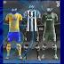 PES2017.  New Kit Logo Juventus & Atl. Madrid by Geo_Craig90