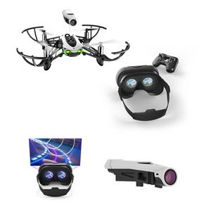 drone parrot mambo fpv con gafas de realidad virtual dron barato