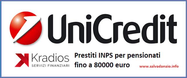 Prestiti INPS per pensionati fino a 80000 euro
