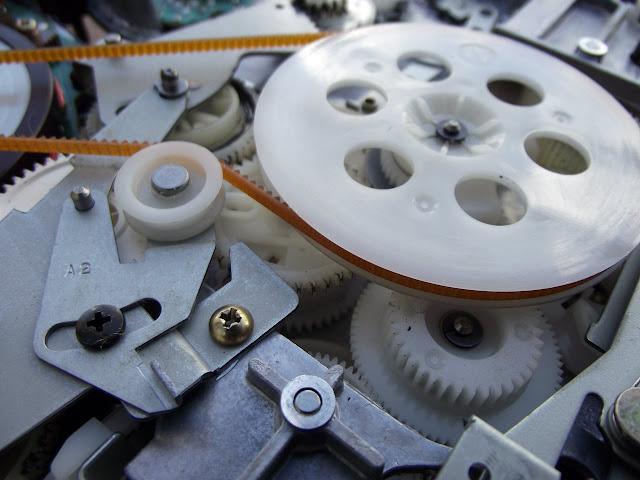 Mecânica de videocassete