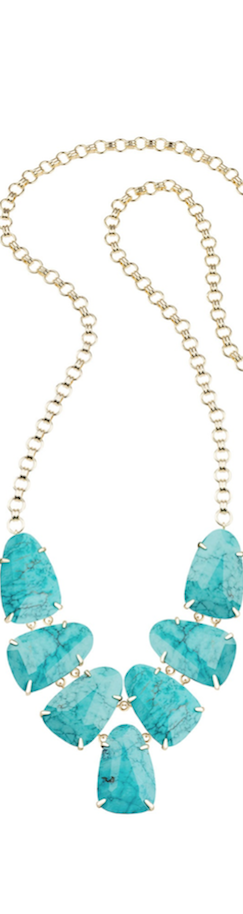 Kendra Scott Harlie Turquoise Necklace