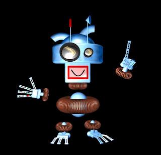 Patch Copper ist das Bild eines Roboters. Bilder können alles!