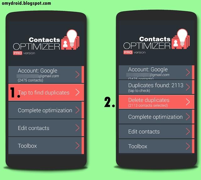 Mengatasi Masalah Duplicate Contact Android