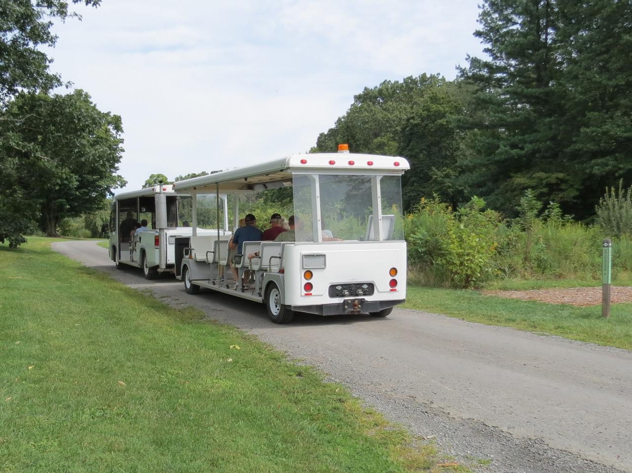 Image result for duke farms tram
