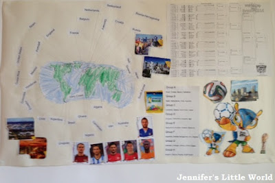 World Cup poster craft for children
