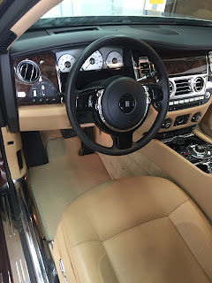 Thảm lót sàn xe Rolls Royce Ghost