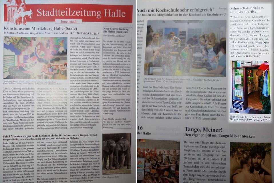 Stadtteilzeitung Halle (Saale) Innenstadt