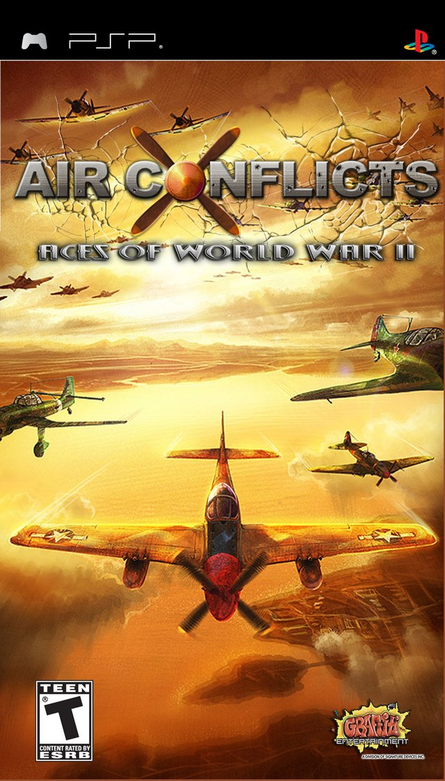 Air Conflicts - Aces of World War II - PSP - ISO Download